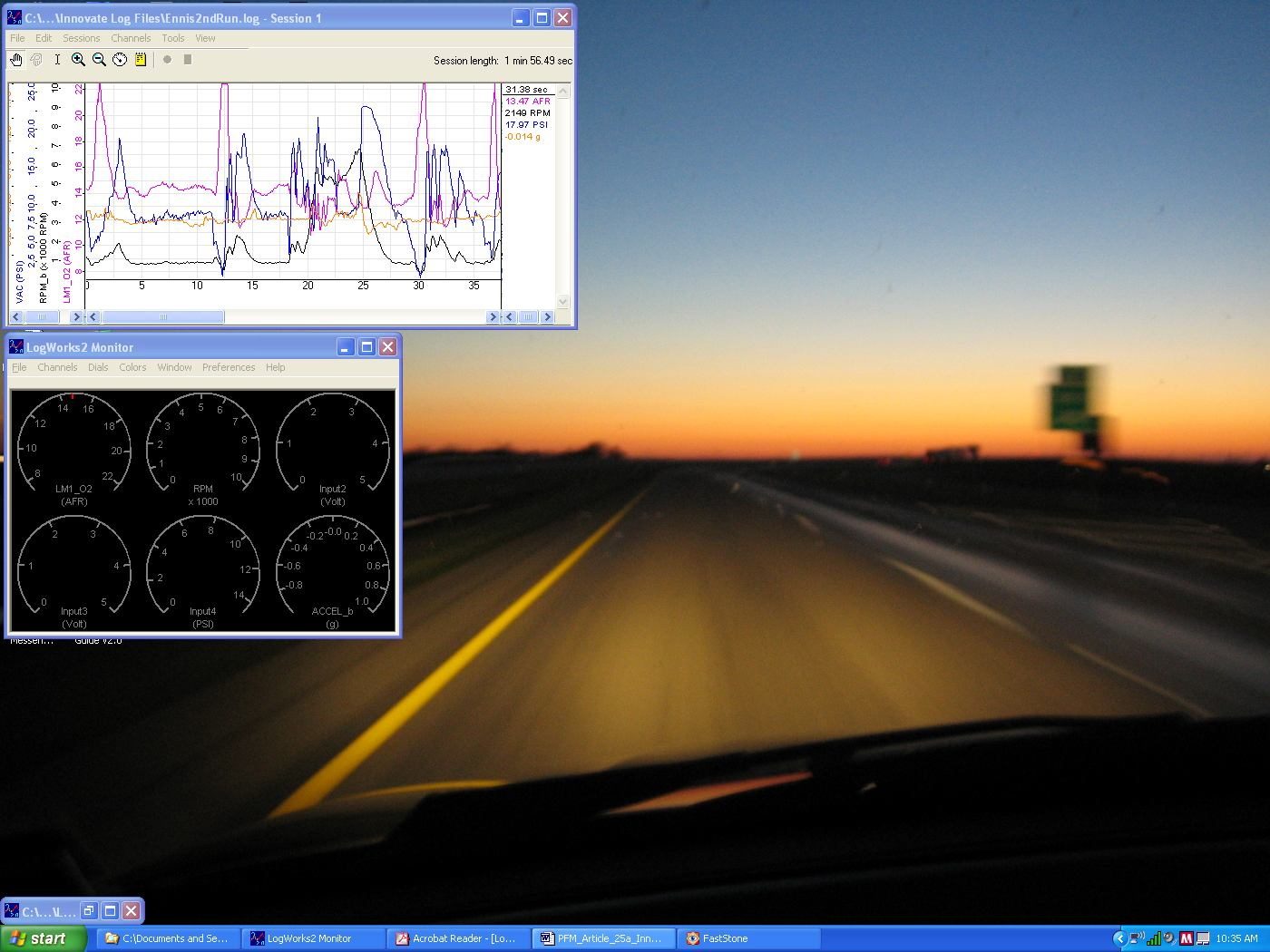 Wideband Efi Tuning Wide Band Fuel Mixture Display Similar To The Screen Shot Below You Can Toggle Between Multiple Sessions Using Session Drop Down Menu Of That New Chart