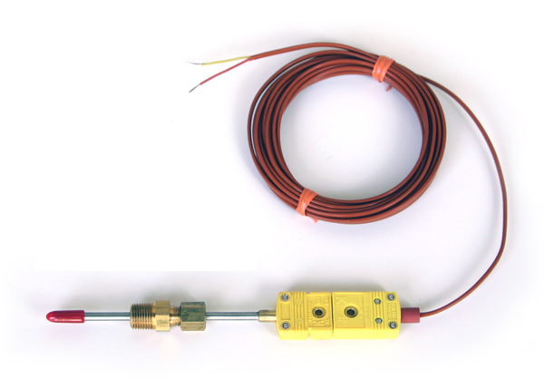 Liquid/Air Temp Sensor (Type K) - RTD-TE-203H