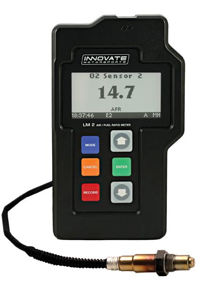 LM-2 Digital Air/Fuel (Single Channel O2) Ratio Meter & OBD-II/CAN Scan Tool - P/N: 3806
