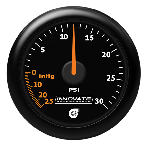 MTX-A: Analog Series 30 PSI Vac / Boost Gauge - P/N: 3908