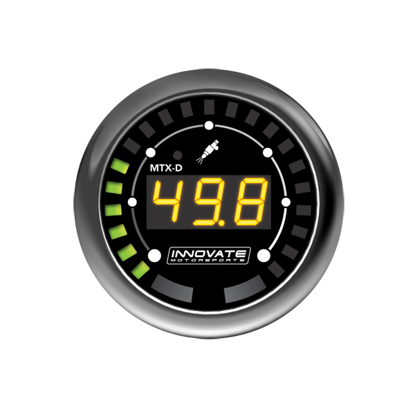 MTX-D: Digital Series Fuel Pressure Gauge Kit - P/N: 3917
