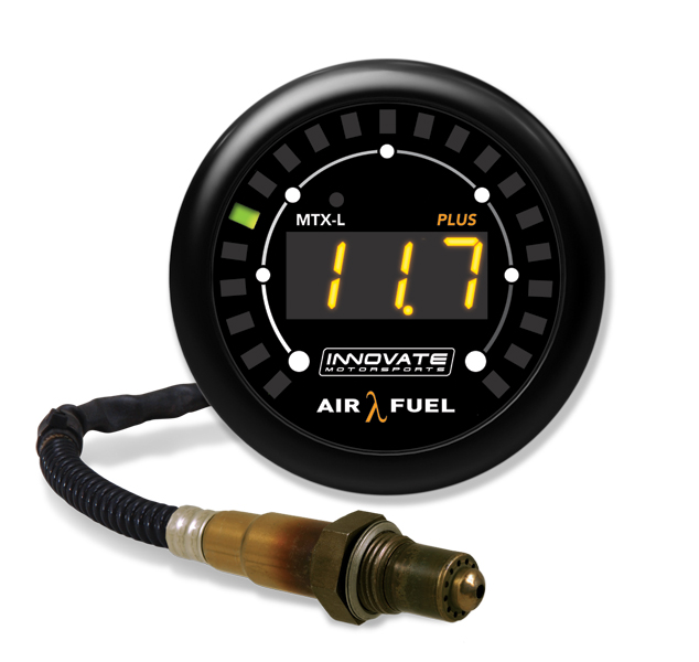 MTX-L PLUS: Digital Air/Fuel Ratio Gauge Kit (8 Ft. Cable) - P/N: 3918 *Supersedes 3844
