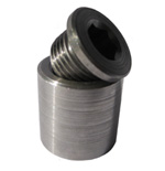 Extended Bung & Plug (1 inch) Stainless Steel - P/N: 3838